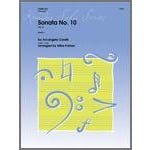 Kendor Music Sonata No. 10 (Op. 5)-Horn in F Solo with Piano Accompaniment