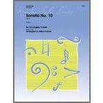 Kendor Music Sonata No. 10 (Op. 5)-Trombone Solo with Piano Accompaniment