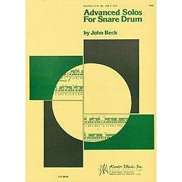 Image for Beck-Advanced Solos For Snare Drum from SamAsh