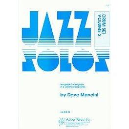 Kendor Music Mancini-Jazz Solos For Drum Set, Volume 2