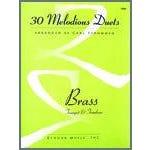 Kendor Music 30 Melodious Duets-Trumpet, Trombone-2-3