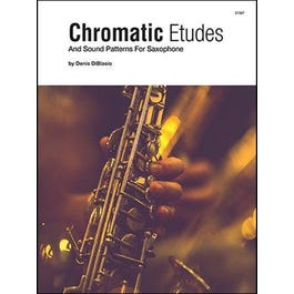 Kendor Music Chromatic Etudes And Sound Patterns For Saxophone