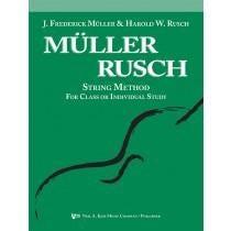 Kjos Muller-Rusch String Method Book 1-Viola