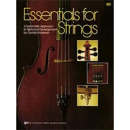 Image for Essentials For Strings - Cello from SamAsh