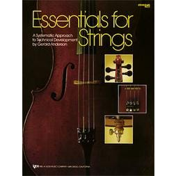 Kjos Essentials For Strings - String Bass