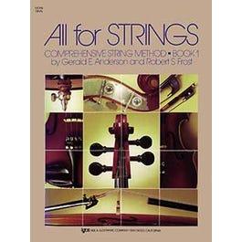Kjos All For Strings Book 1 (Violin)