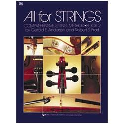 Image for All for Strings Book 2 for Cello from SamAsh