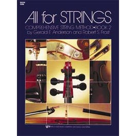Kjos All For Strings Book 2 for Violin