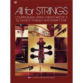 Kjos All for Strings Book 3 for Cello