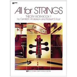 Image for All For Strings Theory Workbook 1 for String Bass from SamAsh