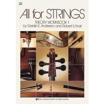 Kjos All For Strings Theory Workbook 1-Viola
