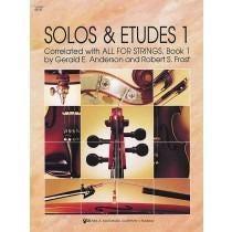 Kjos Solos & Etudes 1 - Viola