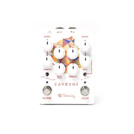 Keeley Electronics Caverns V2 Delay/Reverb Guitar Effects Pedal