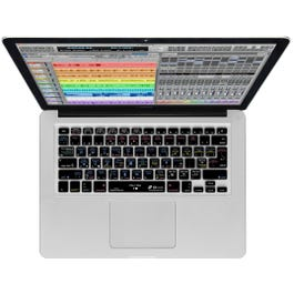 Image for Digital Performer Keyboard Cover (fits Mac NoteBook & Wireless) from SamAsh