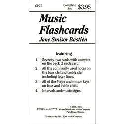 Image for Bastien Music Flashcards from SamAsh