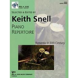 Kjos Piano Repertoire: Romantic & 20th Century, Level 3