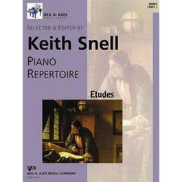 Kjos Piano Etudes Level 1-Keith Snell