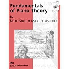 Image for Fundamentals of Piano Theory, Prep Level from SamAsh