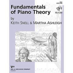 Image for Fundamentals of Piano Theory, Level 1 from SamAsh