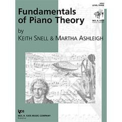 Image for Fundamentals of Piano Theory, Level 3 from SamAsh
