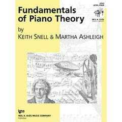 Image for Fundamentals of Piano Theory, Level 4 from SamAsh
