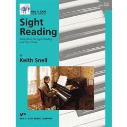 Kjos Sight Reading: Piano Music for Sight Reading and Short Study, Level 7