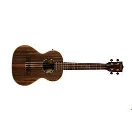 Kala KA-EBY-TE Striped Ebony Tenor Acoustic-Electric Ukulele