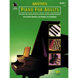 Image for Bastien Piano For Adults- Book 1 (Book Only) from SamAsh