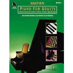 Image for Bastien Piano for Adults Book 1 (Book and 2 CDs) from SamAsh