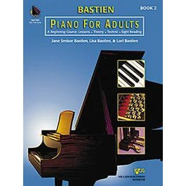 Kjos Bastien Piano for Adults Book 2 (Book and 2 CDs)