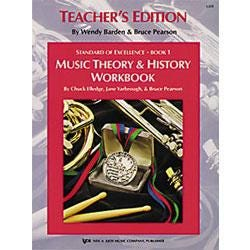 Image for Standard of Excellence Bk 1 Theory & History Workbook- Teacher's Edition from SamAsh