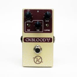 Image for Oxblood Overdrive Effect Pedal from SamAsh