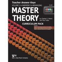 Kjos Master Theory Teacher Answer Keys, Vol. 2