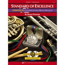 Image for Standard of Excellence Enhanced Book 1 for Bartione BC (Book and 2 CDs) from SamAsh