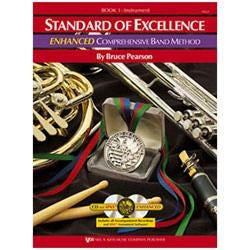 Image for Standard of Excellence Enhanced Book 1 for Bb Clarinet (Book and 2 CDs) from SamAsh