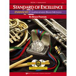 Image for Standard of Excellence Enhanced Book 1 for Baritone Treble Clef (Book and 2 CDs) from SamAsh