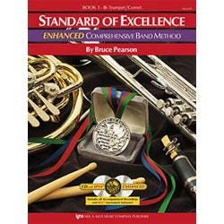 Image for Standard of Excellence Enhanced Book 1 for Trumpet or Cornet (Book and 2 CDs) from SamAsh