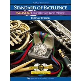 Kjos Standard of Excellence Enhanced Book 2 for Bassoon (Book and 2 CDs)