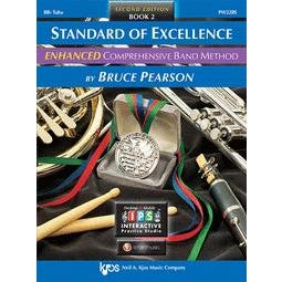 Image for Standard of Excellence Enhanced Book 2 for Tuba (Book and 2 CDs) from SamAsh