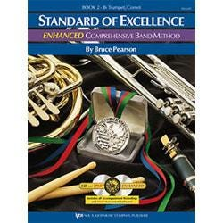 Image for Standard of Excellence Enhanced Book 2 for Trumpet (Book and 2 CDs) from SamAsh