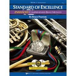 Image for Standard of Excellence Enhanced Book 2 for Baritone Saxophone (Book and 2 CDs) from SamAsh