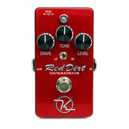 Image for Red Dirt Overdrive Guitar Effect Pedal from SamAsh