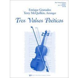 Kjos Tres Valses Poeticos-Score and Parts