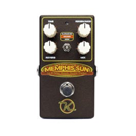 Keeley Electronics Memphis Sun Lo-Fi Reverb, Echo and Double-Tracker Multi-Effect Pedal
