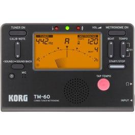Korg TM-60 Combo Tuner Metronome