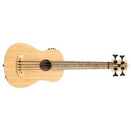 Kala Bamboo Fretted Acoustic-Electric U-BASS