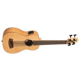 Kala UBASS-FM-FS Flame Maple Fretted Acoustic-Electric U-Bass
