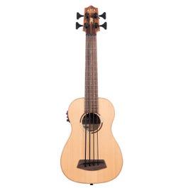 Image for Solid Cedar Pau Ferro Acoustic-Electric U•BASS from SamAsh