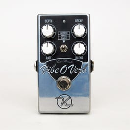 Image for Vibe-O-Verb Reverb/Vibrato Effects Pedal from SamAsh