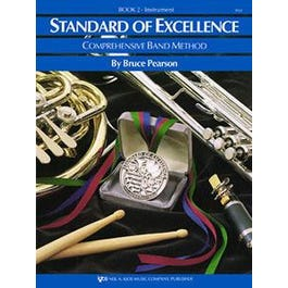 Kjos Standard of Excellence (SOE) Bk 2, Timpani/Auxiliary Percussion